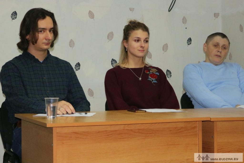 Віктар Клімус, Аляксандра Лазарэнка, Аляксандр Баранаў