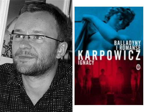 Польскі пісьменнік Ігнацы Карповіч у кнігарні
