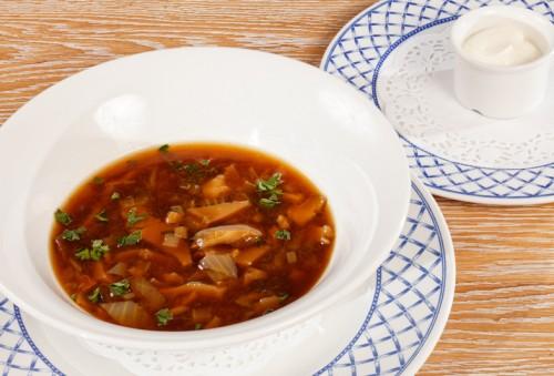 Беларуская кухня для прафесійных кухараў: Грыбны квас