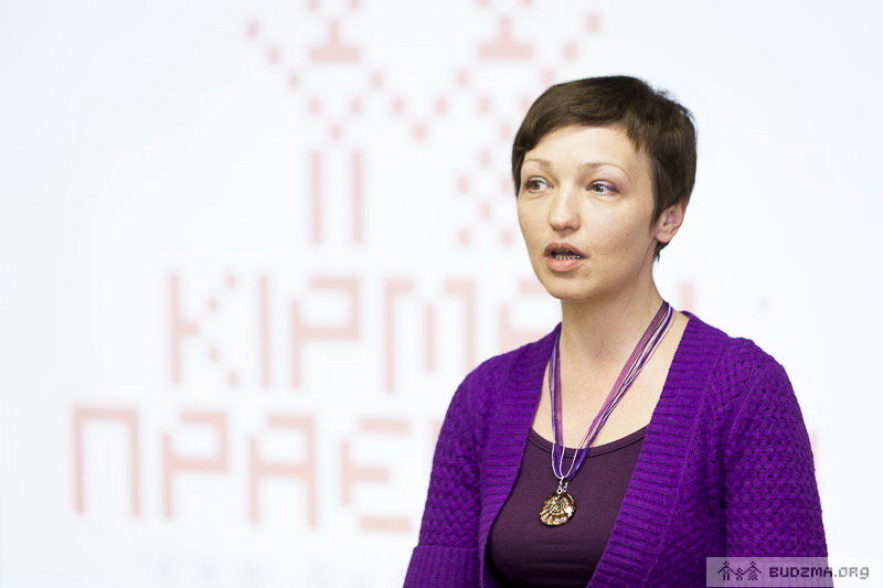 """Ніна Шыдоўская, каардынатар кампаніі """"Будзьма беларусамі!"""""""