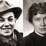 Уладзімір Караткевіч і Ніна Молева. Фота з блога Дзяніса Марціновіча.