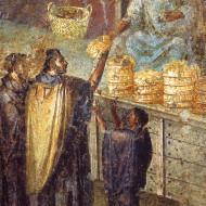 Раздача хлебу
