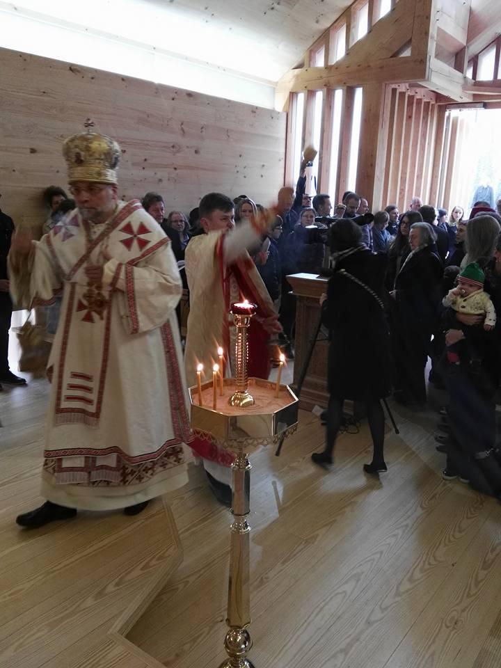 Першая беларуская царква ў Лондане