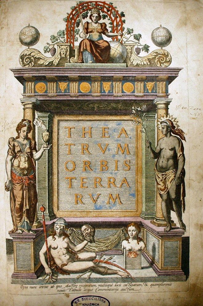Вокладка атласа Абрахама Артэліуса