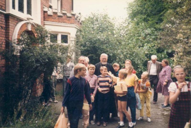 Беларускія дзеці падчас адпачынку ў Вялікабрытаніі
