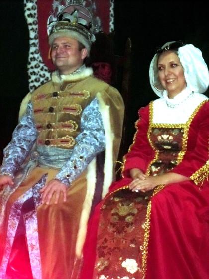 Кароль Жыгімонт і каралева Бона Сфорца (А. Рукаль і М. Багародзь)