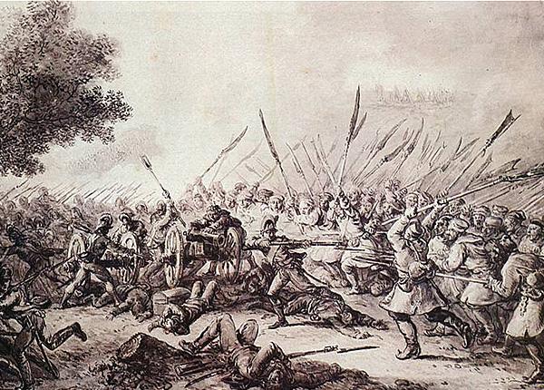 Бітва пад Рацлавіцамі. 4 красавіка 1794