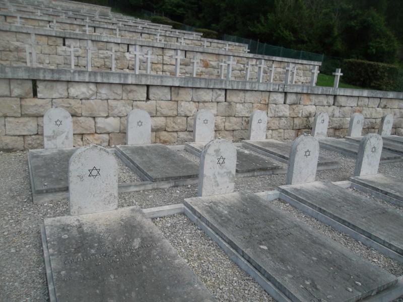 Габрэйская секцыя на могілках