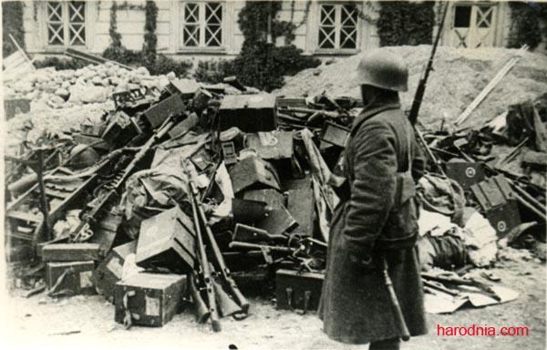 Трафеі Чырвонай Арміі ў Заходняй Беларусі, верасень 1939 г.