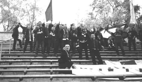 """Фанаты магілёўскага """"Дняпра"""", 2000 год"""