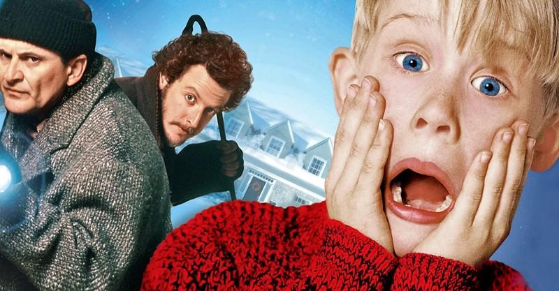 Кадр з фільма «Адзін дома» (1990)