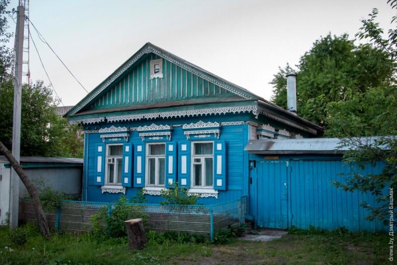 Дом у цэнтры Гомеля (завулак Шпітальны)