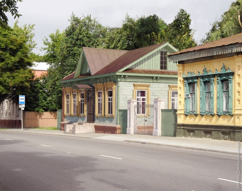 Праект-прапанова пераноса дома з вул. Валатаўской на вул. Пралетарскую